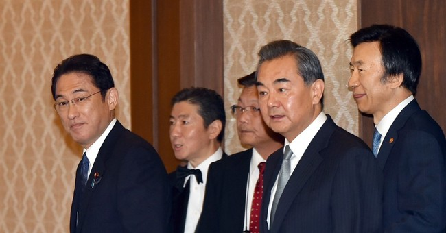 Japan, China, S. Korea ministers slam N. Korea missile test