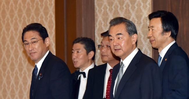Japan, China, S. Korea ministers slam N. Korea missile test