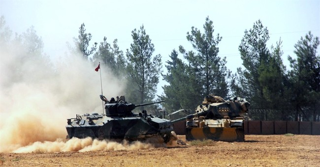 Turkey launches operation to free IS-held Syrian town