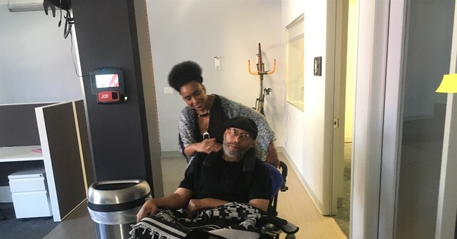 The Latest: Disabled man asks judge to restore voting right