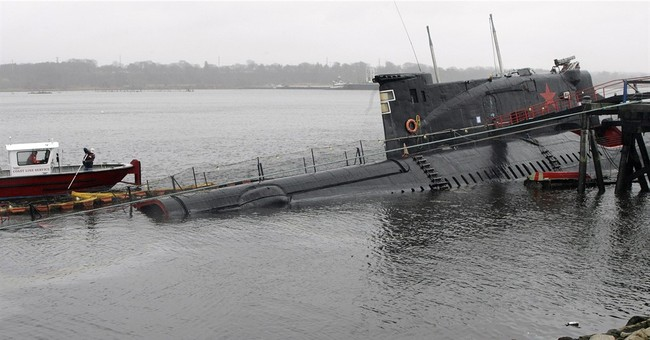 Rhode Island sues to get Russian sub removed from scrapyard