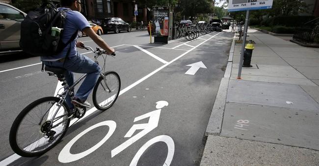 When mere paint won't do it: Bike lanes around the world