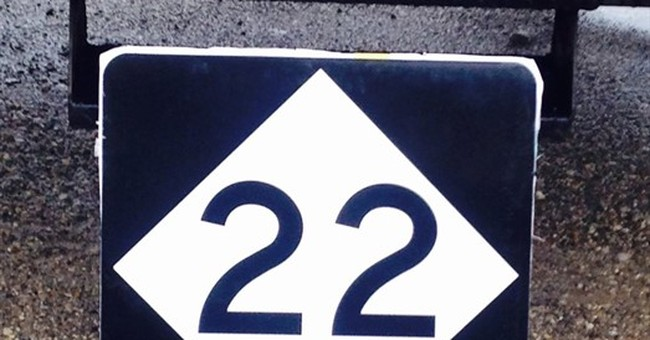 State hopes '22' highway sign won't be as coveted as M-22