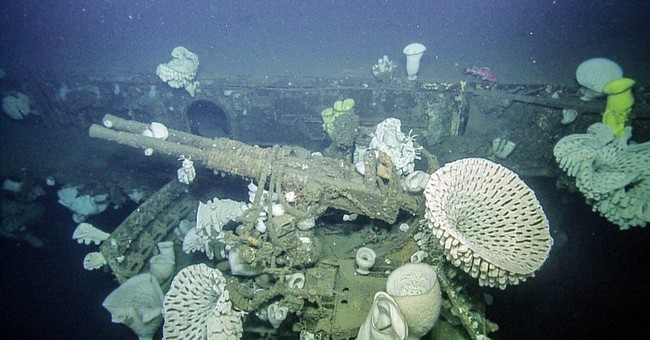 Underwater expedition off California reveals sunken warship