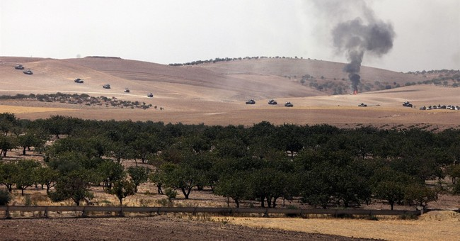 Turkey makes first major foray into Syria with assault on IS