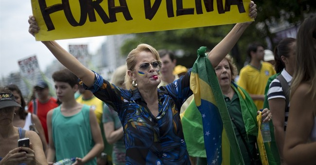 Shouts, charges of 'stupidity,' at Brazil president's trial