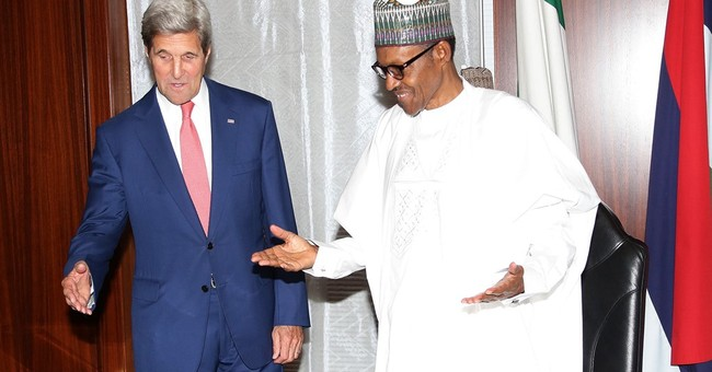 Nigerian anti-corruption groups beg Kerry: Return loot