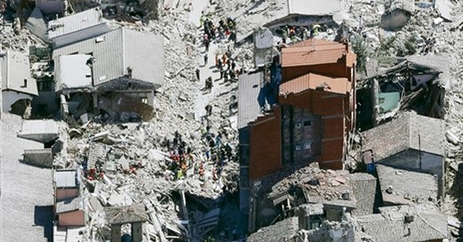 Italian town destroyed in quake was preparing food festival