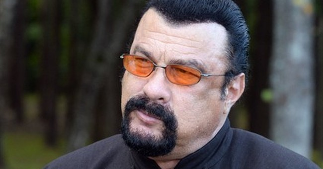 Belarusian leader treats action hero Seagal to local melons