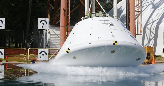 NASA nears the end of its splashdown tests for Mars craft