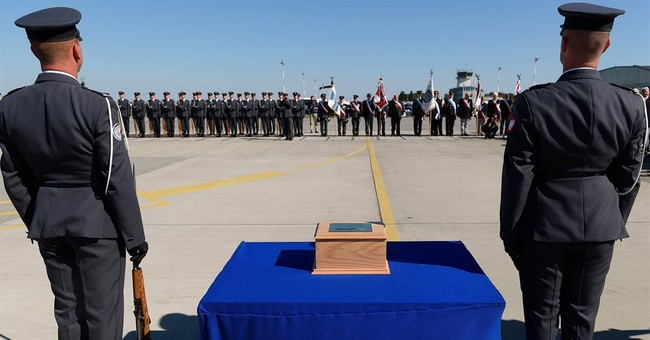 Ashes of Polish Battle of Britain ace return home for burial