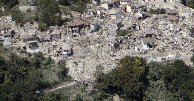 Nuns, priest and past quake survivor escape death in Italy