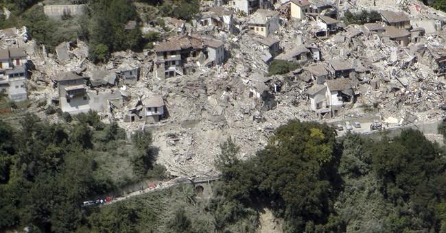 Nuns, priest and past quake survivor escape death in Italy