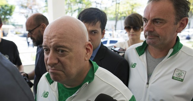 Rio police: Irishmen say their top official handled tickets