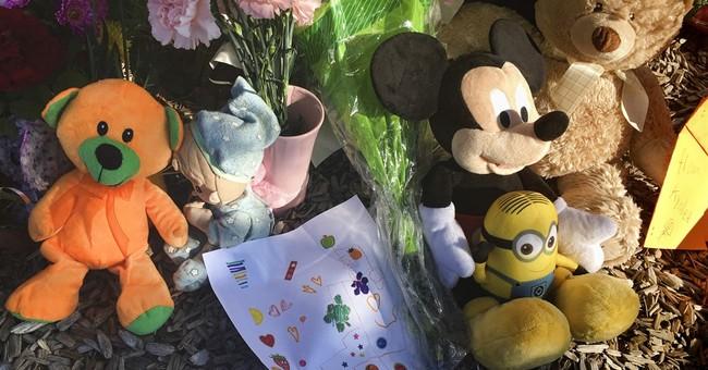 The Latest: Slain girl's relatives express sorrow, grief