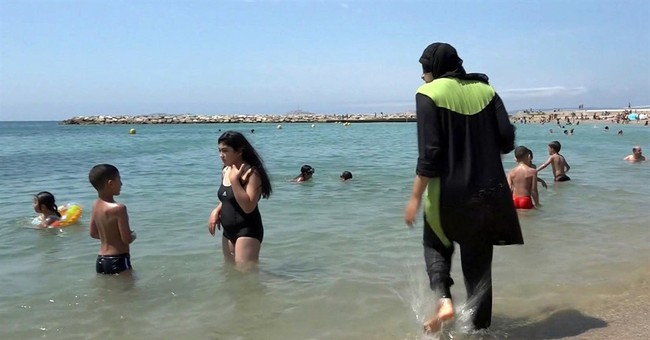 Burkinis, economy top items in French presidential campaign