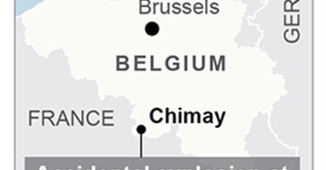 1 dead, at least 4 injured in Belgium in accidental blast
