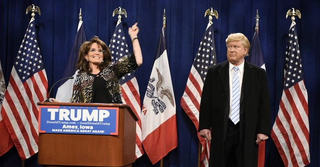 Tina Fey returns as Sarah Palin on 'SNL,' Oscars parodied