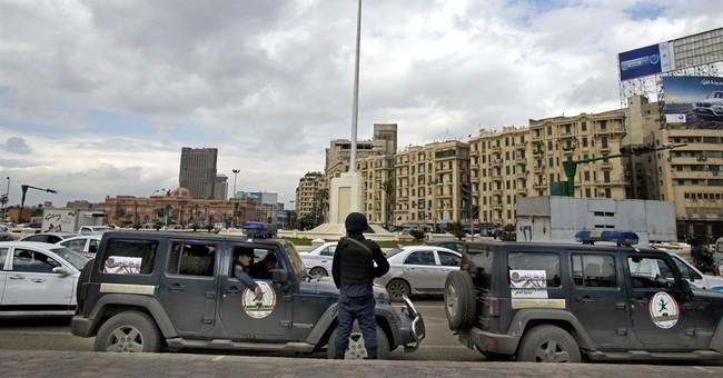 Egypt's president praises 2011 uprising, urges patience