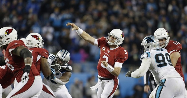 Newton, Panthers rout Cardinals, 49-15 for NFC title