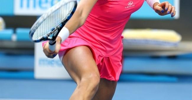 Teary finish: Radwanska holds off cramping Friedsam