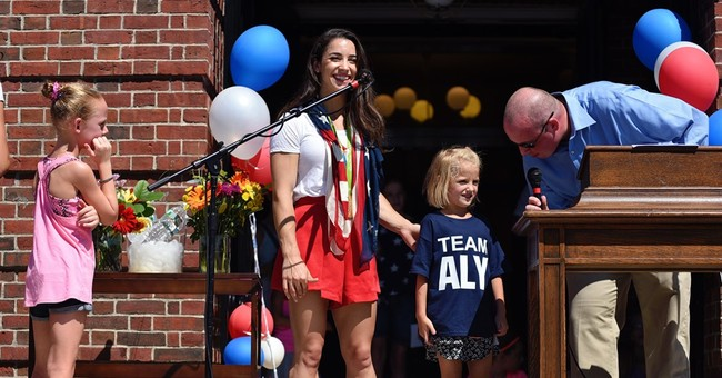 Olympic champion Aly Raisman feted by Massachusetts hometown