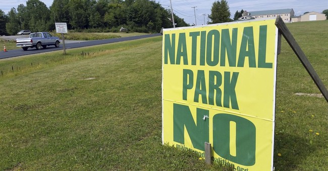 A monumental task: Getting Mainers to support a new park