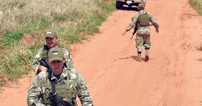 8 troops killed in suspected rebel attack in north Paraguay