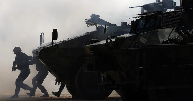 Serbia, Bosnian Serbs hold joint anti-terrorism drill