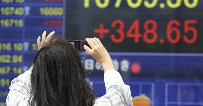 Global stocks lower, except for Tokyo, on Yellen speech