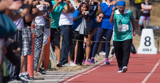 100-year-old runner from India inspires at Masters Games