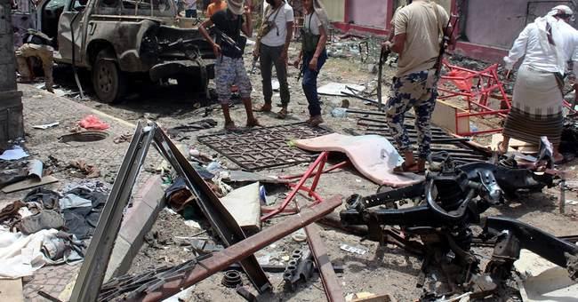 Islamic State bombing kills 54 government recruits in Yemen