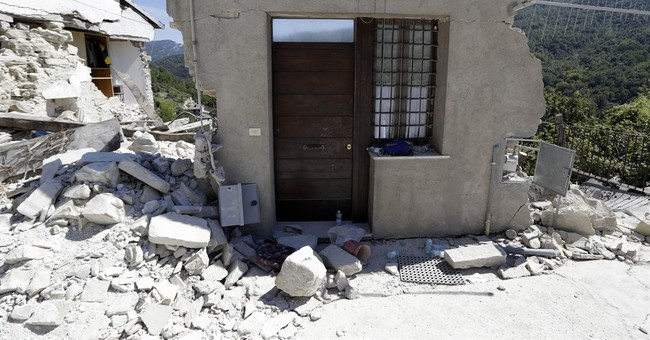 The Latest: Bishop: Quake rebuilding must not 'loot' Italy