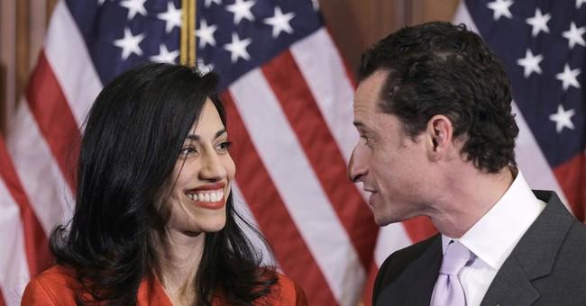 Clinton aide Abedin dumps husband Weiner over new scandal