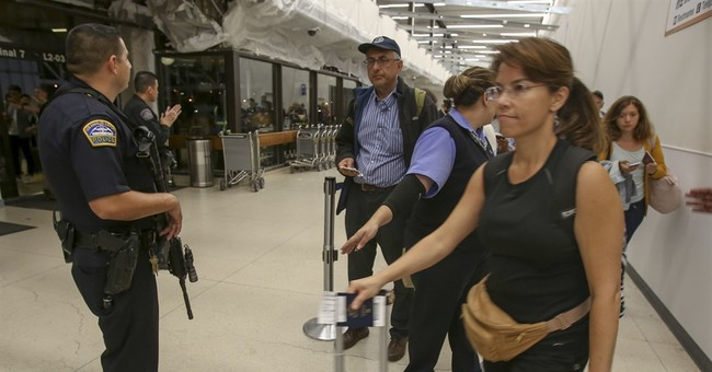 Airport scare hard to avoid with cascade of false reports