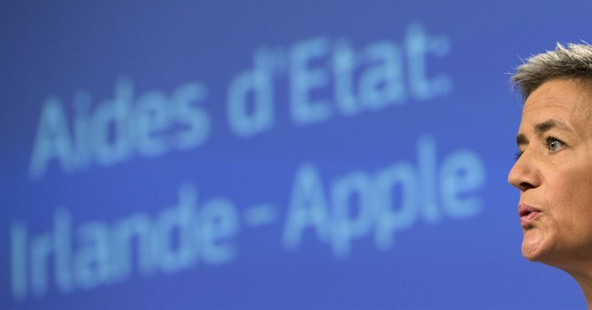 Europe hits Apple with a $15 billion-plus tax bill