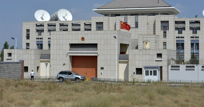 3 hurt as suicide bomber hits Chinese Embassy in Kyrgyzstan