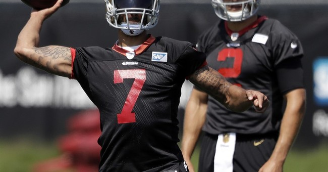 As anthem controversy simmers, Kaepernick prepares to play