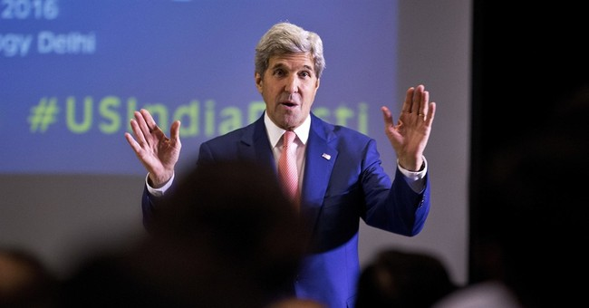 Monsoon rains, terrorism ad lib snag Kerry in South Asia