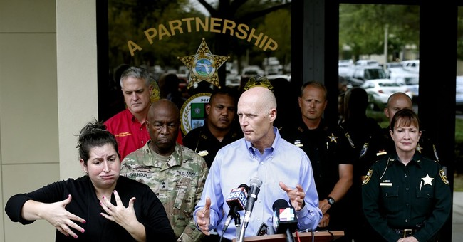 The Latest: Forecasters issue hurricane warning in Florida