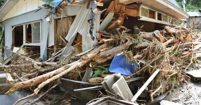 At least 11 dead as Typhoon Lionrock floods northern Japan