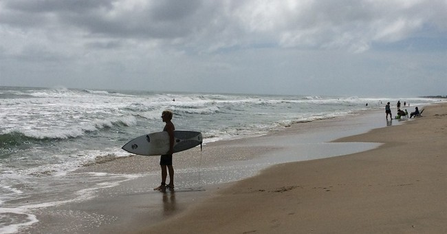 Tropical weather system spares North Carolina's Outer Banks