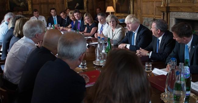 British leader rejects notion of a 2nd British EU vote