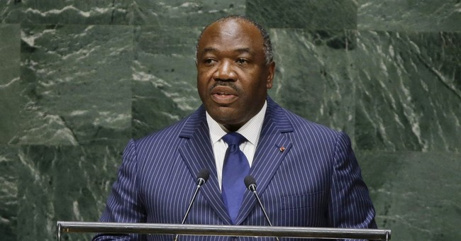 Gabon president re-elected; buildings are looted, burned