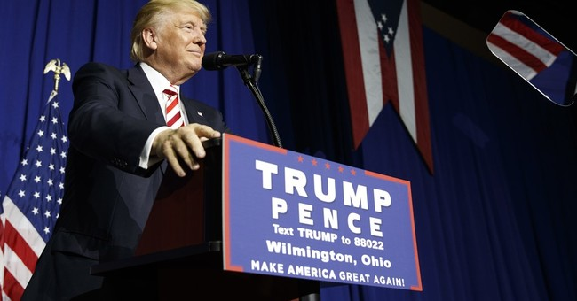 The Latest: Trump says critics didn't understand speech