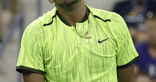 Blinded by the bright? US Open fashion screams neon loud