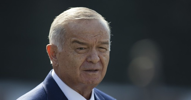 Report: Uzbek government says President Karimov has died