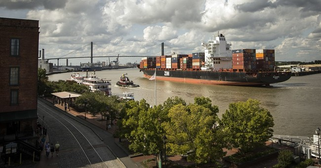 US  trade deficit fell in July