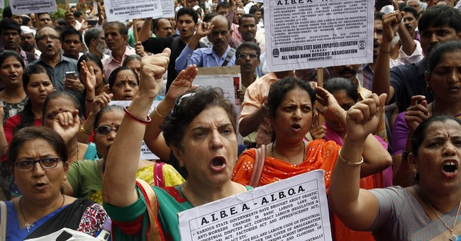 Workers strike across India to protest economic reforms