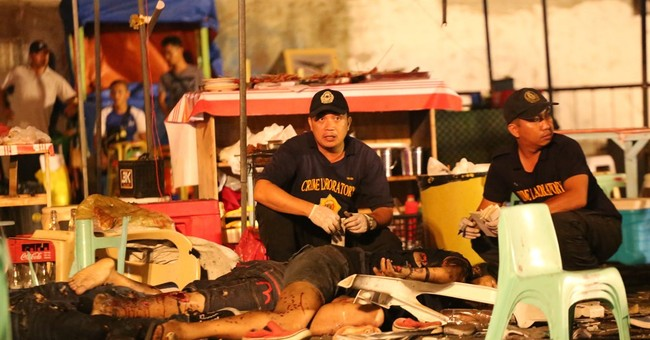 Philippine leader declares 'state of lawlessness' after bomb